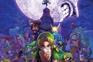 Zelda, Link, The Legend of Zelda: Majora&039;s Mask