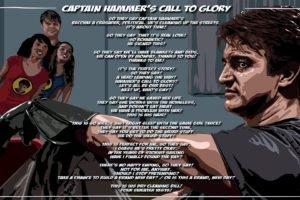 Nathan Fillion, Captain Hammer, Dr. Horrible&039;s Sing Along Blog, Lyrics
