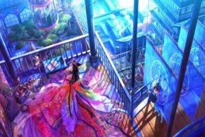 fairies, Oriental, Balcony