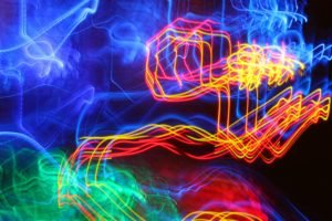 long exposure, Light painting, Colorful