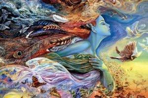 women, Birds, Butterfly, Geese, Dove