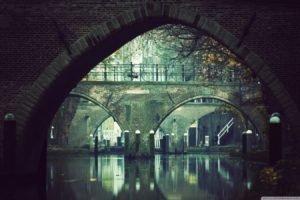 flood, Bridge, Utrecht