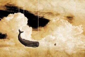 whale, Clouds, Petunias, The Hitchhiker&039;s Guide to the Galaxy