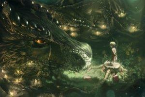 children, Dragon