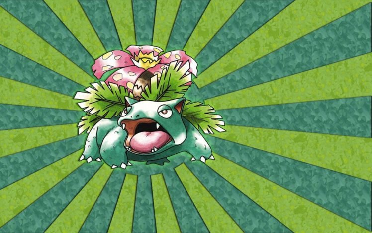 Venusaur, Pokémon HD Wallpaper Desktop Background