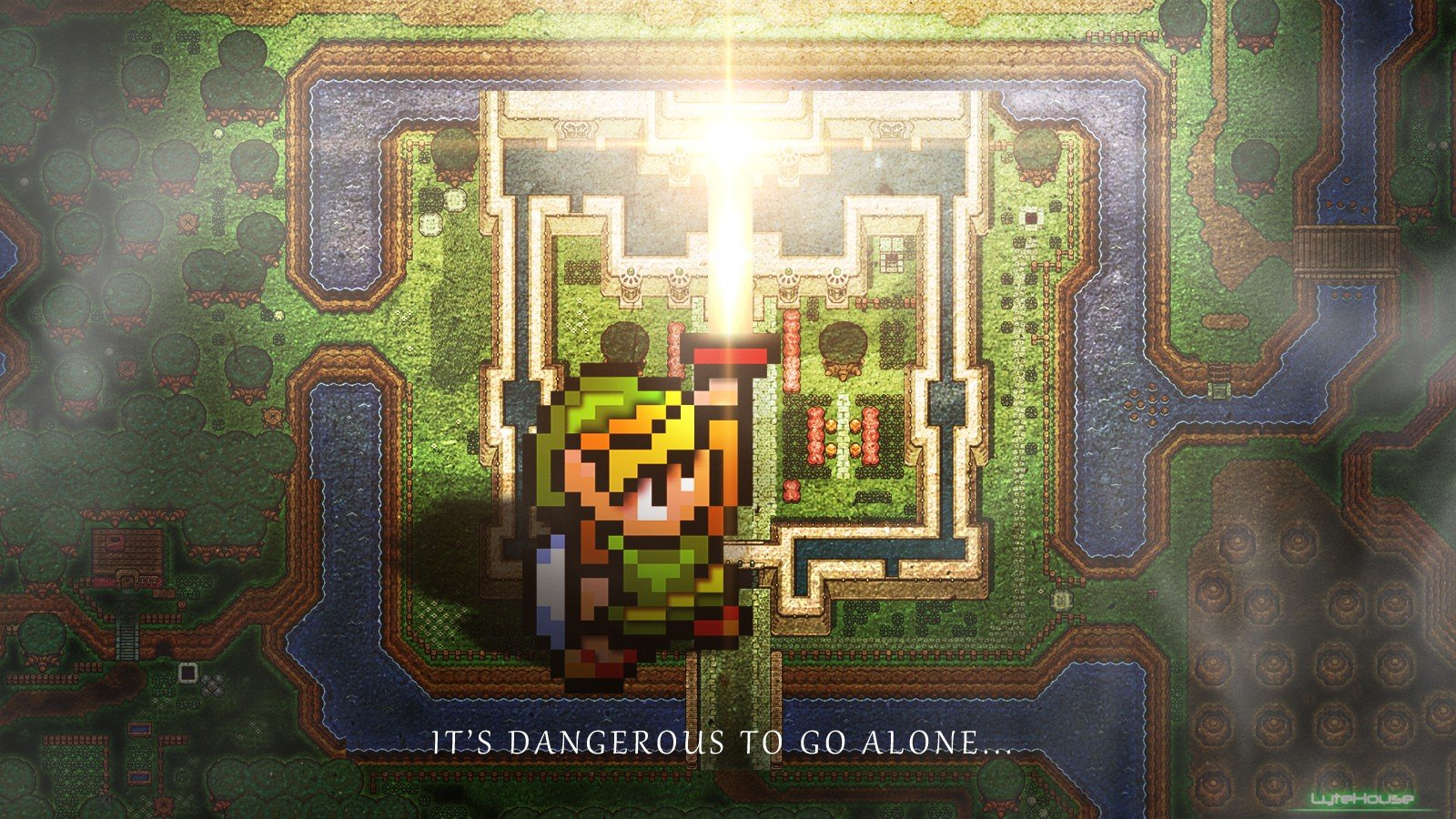 Zelda Quote The Legend Of Zelda A Link To The Past Hd