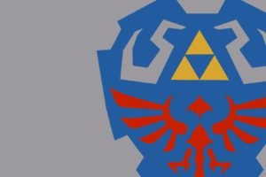 Zelda, Triforce, Hylian Shield