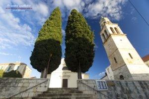 Vela Luka, Korčula, Hrvatska, Croatia, Church, City