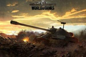 World of Tanks, Tank, IS 7, ИС 7, Wargaming