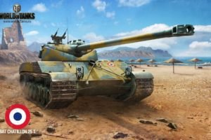 World of Tanks, Tank, Batignolles Chatillon 25t, Wargaming