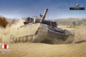 World of Tanks, Tank, Centurion Mk.7 1, Wargaming