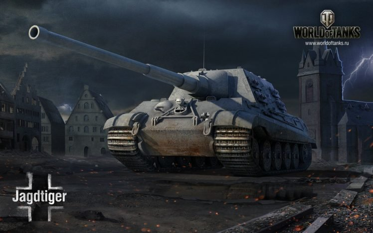 World of Tanks, Tank, JagdTiger, Wargaming HD Wallpaper Desktop Background
