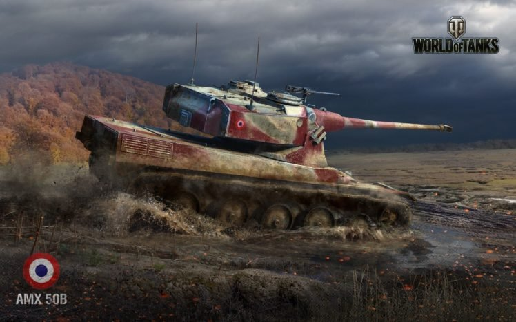 World Of Tanks Tank Amx 50b Wargaming Hd Wallpapers Desktop And
