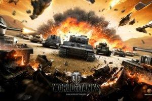 World of Tanks, Tank, Wargaming, Tiger I, T 28, T 34