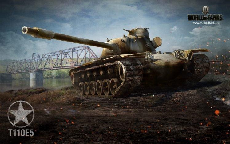 World of Tanks, Tank, T110E5, Wargaming HD Wallpaper Desktop Background