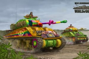 World of Tanks, Tank, M4 Sherman, Wargaming