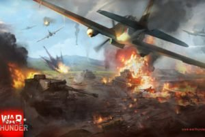 War Thunder, Tank, Airplane, Gaijin Entertainment, Video games, War, World War II