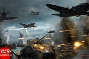 War Thunder, Tank, Airplane, M4 Sherman, Gaijin Entertainment, P 47 Thunderbolt