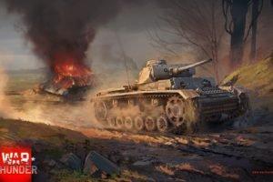 War Thunder, Tank, T 34, Gaijin Entertainment, Panzer III