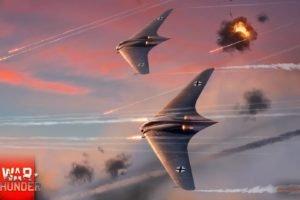 War Thunder, Airplane, Gaijin Entertainment, Horten Ho 229