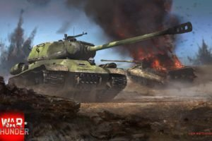 War Thunder, Tank, IS 2, Tiger II, Gaijin Entertainment