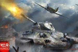 War Thunder, Airplane, Tank, T 34, Gaijin Entertainment, Lavochkin Gorbunov Gudkov LaGG 3