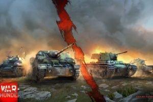 War Thunder, Tank, KV 1, Gaijin Entertainment, Jagdpanzer IV