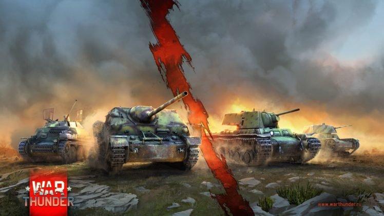 Обои игры War Thunder в HD качестве на рабочий стол