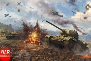 War Thunder, Airplane, Tank, T 34, Gaijin Entertainment, T 34 85
