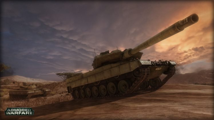 Armored Warfare, Tank HD Wallpaper Desktop Background