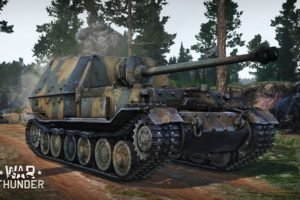 War Thunder, Tank, Ferdinand, Gaijin Entertainment