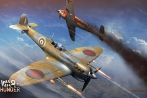 War Thunder, Airplane, Gaijin Entertainment, Supermarine Spitfire