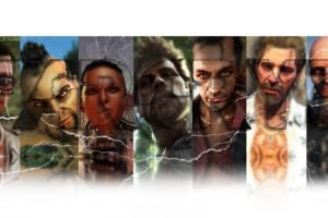 Dennis Rogers, Citra Talugmai, Hoyt Volker, Buck, Sam Becker, Video game characters, Face, Vaas Montenegro, Jason Brody, Far Cry 3
