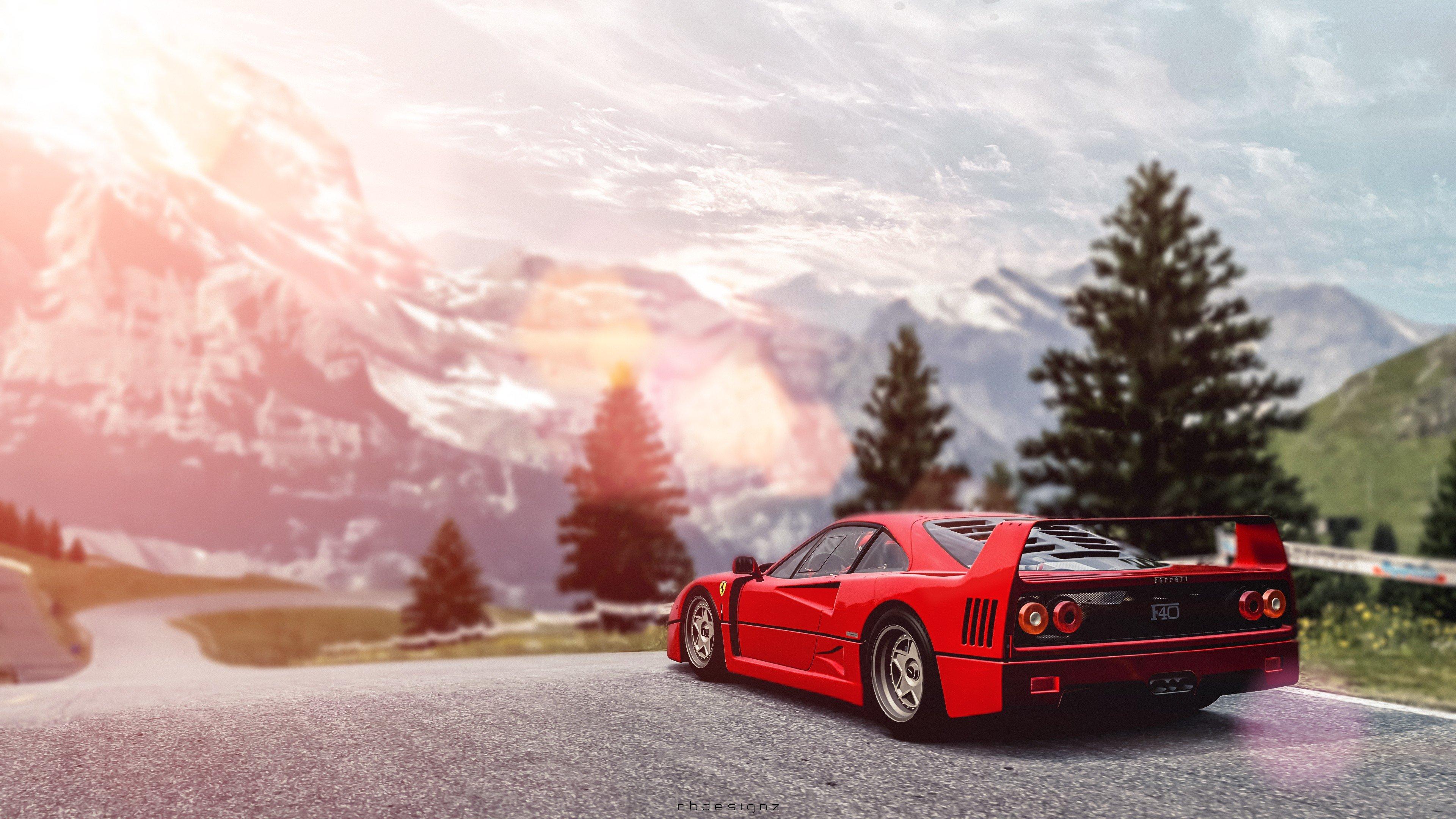 Gran Turismo 6 Gran Turismo Ferrari Ferrari F40 Video Games Hd Wallpapers Desktop And Mobile Images Photos