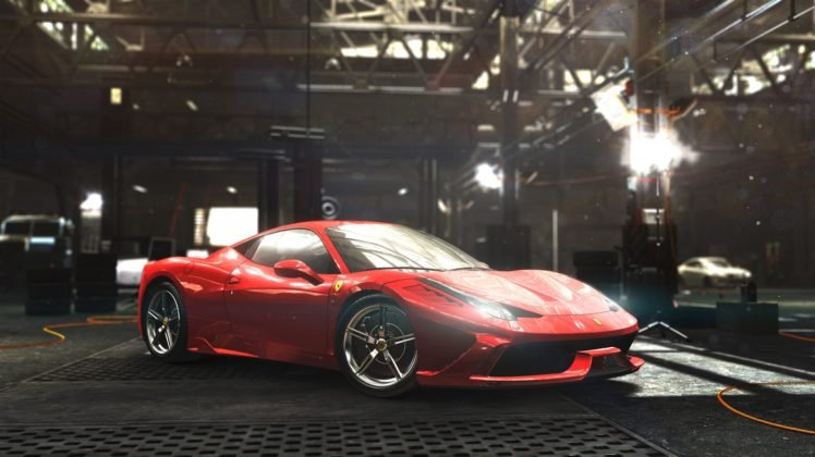 Ferrari 458 Speciale, Ferrari, The Crew, Ubisoft, Video games HD Wallpaper Desktop Background