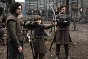 Jon Snow, Robb Stark, Bran Stark, Brandon Stark, Kit Harington, Game of Thrones