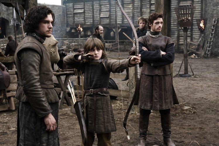 Jon Snow, Robb Stark, Bran Stark, Brandon Stark, Kit Harington, Game of Thrones HD Wallpaper Desktop Background