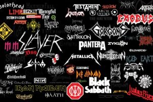 metal, Metal music, Collage