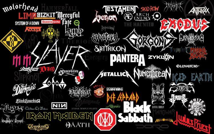 metal, Metal music, Collage HD Wallpaper Desktop Background