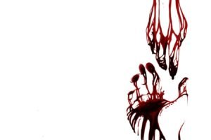 hands, Blood, Minimalism