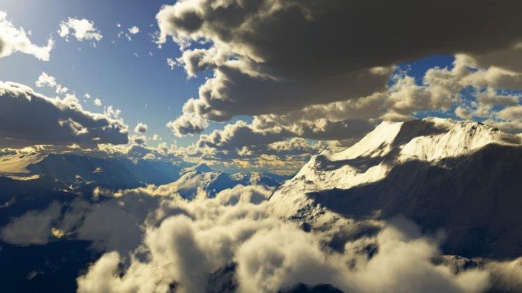 clouds HD Wallpaper Desktop Background