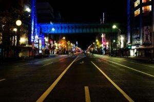 Asia, Tokyo, Japan, Night, Street, City, Akihabara