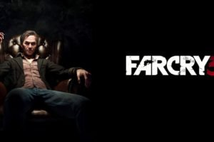 Hoyt Volker, Far Cry 3, Far Cry, Black background