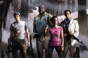video games, Left 4 Dead, Gun