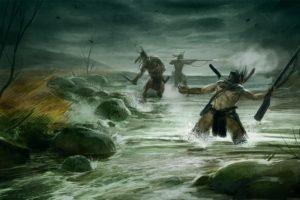 warrior, Video games, River