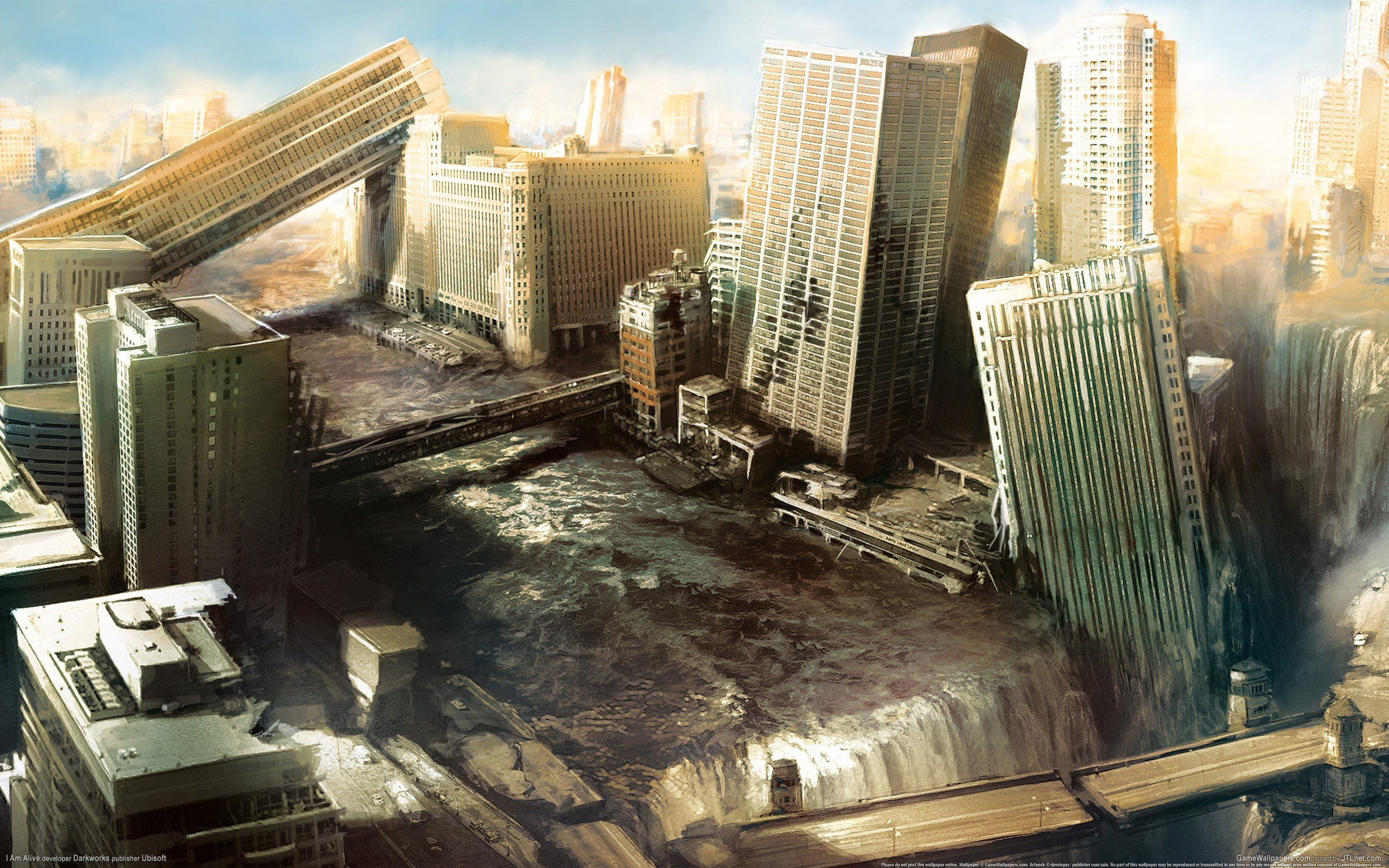 video games, Apocalyptic, Building Wallpaper