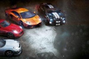 The Crew, Nissan, RUF, Chevrolet, Lamborghini, Lamborghini Aventador, Nissan 370Z, Chevrolet Camaro, Ubisoft, Video games