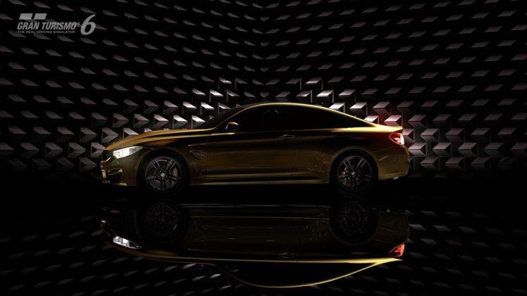 BMW M4 Coupe, BMW M4, BMW, Gran Turismo 6, Gran Turismo, Video games HD Wallpaper Desktop Background