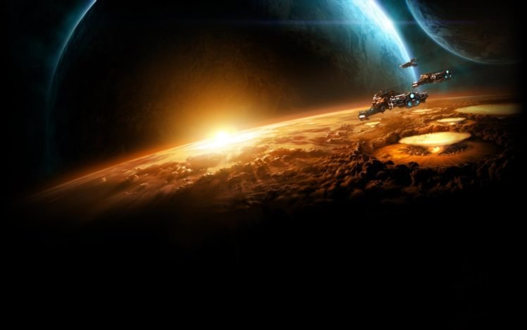 apocalyptic, Science fiction, Planet, Nuclear HD Wallpaper Desktop Background