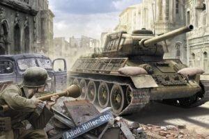 Adolf Hitler, Tank, T 34, World War II